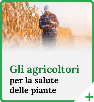 Gli agricoltori per la salute delle piante